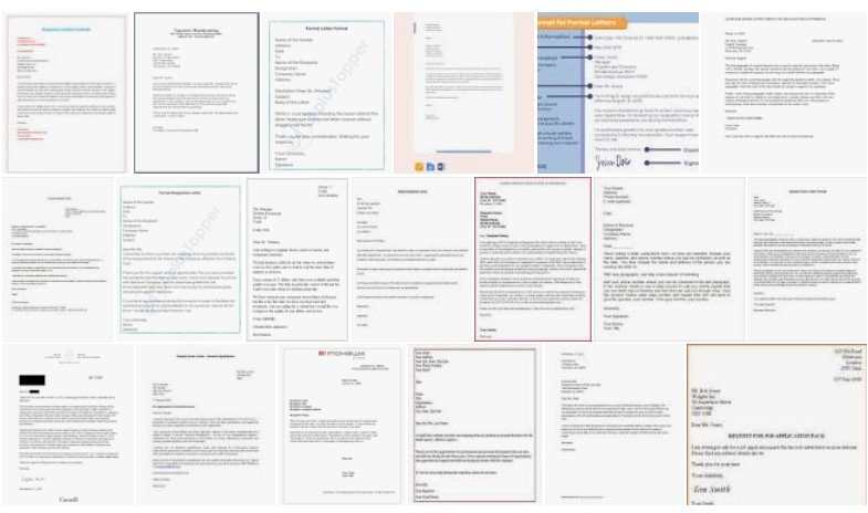2 Official Letter Format Examples – PDF